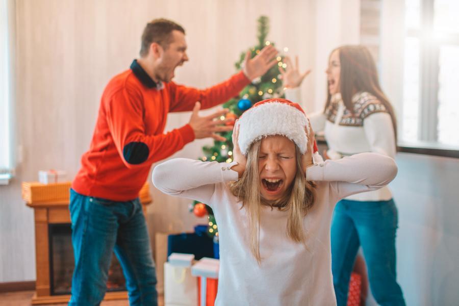 Streit an Weihnachten vermeiden in der Familie